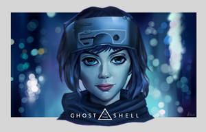 Ghost in the Shell fan art by hainguyen2310