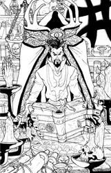 Dr. Strange, Sorcerer Supreme by Marvin000