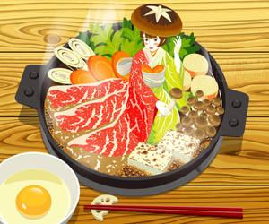 sukiyaki by rin-sarasara