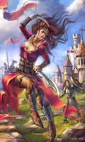 Blade danser for Karacterz by alenaswan
