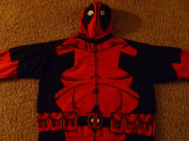 Deadpool Front Painting WIP by Linksliltri4ce