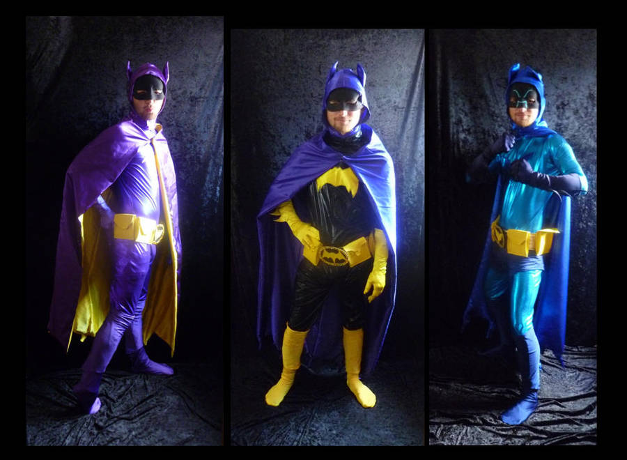 2 Batgirls + 1 Batman Finished by Linksliltri4ce