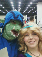 Ganon and Zelda by Linksliltri4ce