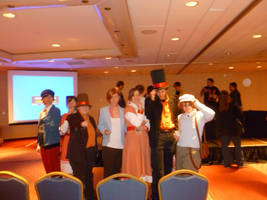 Professor Layton Cosplayers by Linksliltri4ce