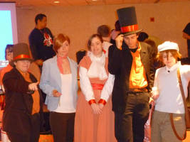 Professor Layton Cosplayers 2 by Linksliltri4ce