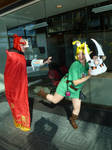 Bunny Hood Powers Activate- Steal Ganon's Mask by Linksliltri4ce