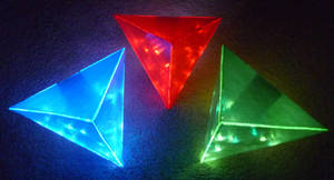 LED Triforces! 2 by Linksliltri4ce
