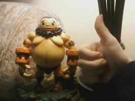 Goron Link's a BIG Boy! by Linksliltri4ce