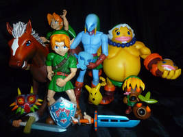 Majora's Mask Figurine Collection by Linksliltri4ce