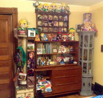 My Current Zelda/Rapunzel/Layton/Chobit Collection by Linksliltri4ce