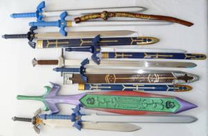 Zelda Sword Collection by Linksliltri4ce