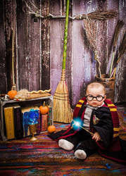 Baby Harry Potter by Linksliltri4ce