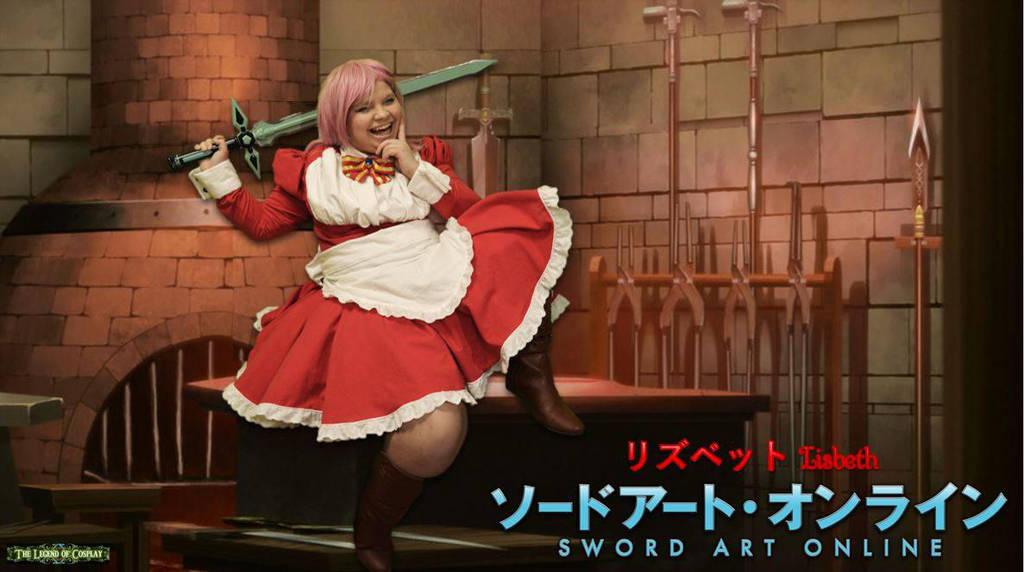 Happy Sword Smith Shop! -Lisbeth -Sword Art Online by Linksliltri4ce