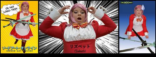 Logo Trip Comic - Lisbeth - Sword Art Online by Linksliltri4ce