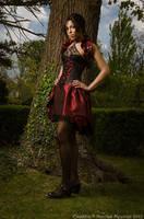 Taffeta underbust corset dress 2011 collection ' by Esaikha
