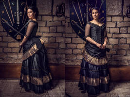 1870 Ball gown by Esaikha
