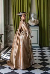 Robe a la francaise 18th by Esaikha