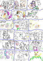 Scary Doodle Compilation by ariastrife