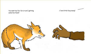 Fox Fur Cartoon by ariastrife