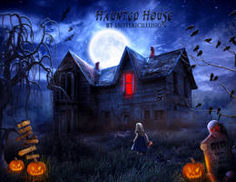 Haunted House by WhimsicalBlue