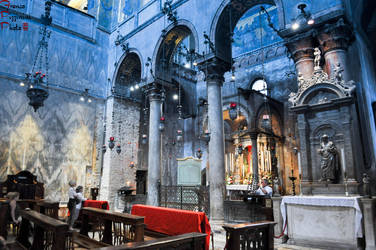 Saint Mark Basilika - Inside II by lailalta