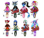 Adoptable Batch: OFFER TO ADOPT [OPEN] by Sarah--Elizabeth