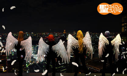 Saint Oniisan: Archangels by Junez-chan