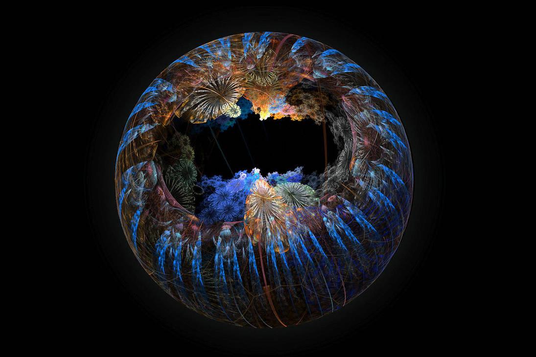 Flora sphere. by FractalCaleidoscope