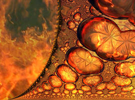 Free/Stock   Fractal Inferno 2 by FractalCaleidoscope