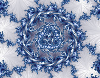 Free, stock - Winter fractal by FractalCaleidoscope