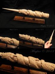 Dragon Wand by Maylar