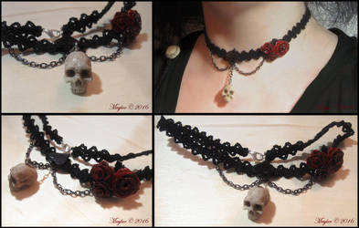 Lady Death Necklace by Maylar