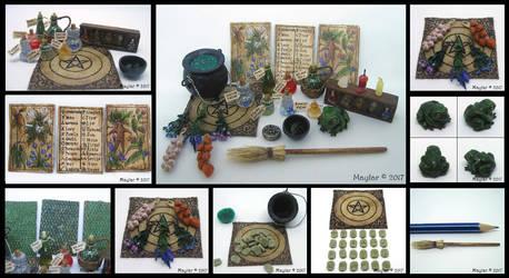 Witch's Set by Maylar