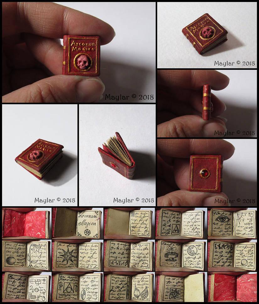 Arcanum Magica Miniature Book by Maylar