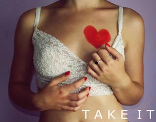 Take it. by Ilincaaa