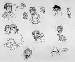 Team 8 Sketch by cailencrow