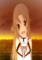 Sword Art Online - Asuna Yuuki by piccohan