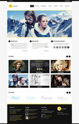Incorn - Portfolio HTML Template by ZERGEV