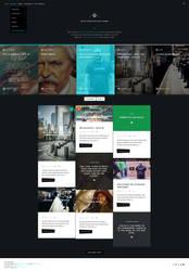 Atica - WordPress Creative Blog Theme - Home by ZERGEV