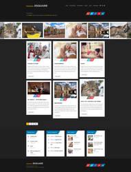 Esquare - Responsive WordPress Blog Theme by ZERGEV