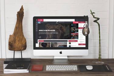 Elbrus  WordPress Blog Magazine Theme - 01 by ZERGEV
