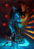 Hello, kitty by Pintureiro