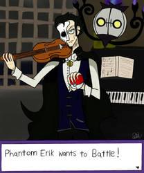 the Phantom of the Opera in Pokemon by Maverickleaderhood