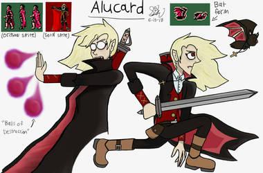 My take on Alucard by Maverickleaderhood