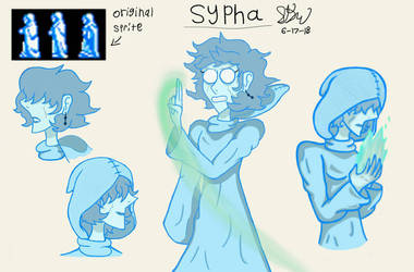 My take on Sypha (Castlevania) by Maverickleaderhood