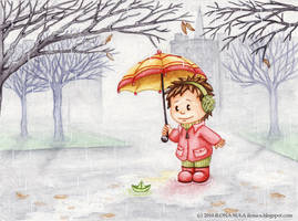 Rainy day by Ilona-S