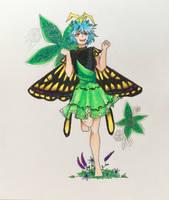 Midsummer fairy by Aculka