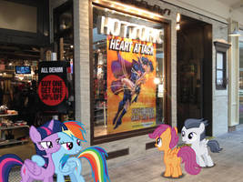 Filly Love near Hot Topic by DreamCasterPegasus