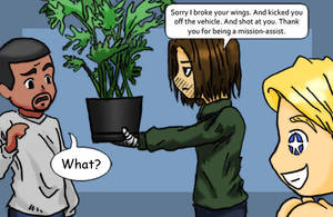 When apologizing, the size of the plant matters. by gamef0x