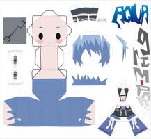 aqua kingdom hearts pattern by Grim-paper
